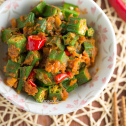 Sambal Okra with Dried Shrimps Recipe