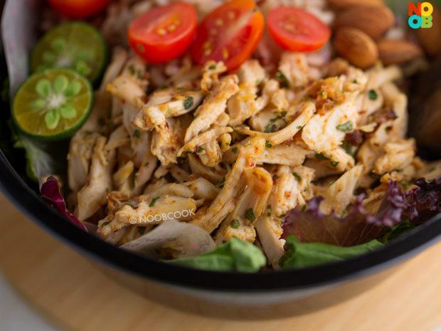 Seasoned Asian-spiced Chicken Recipe
