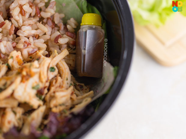 Asian-spiced Chicken Salad (Sesame Soy) Dressing