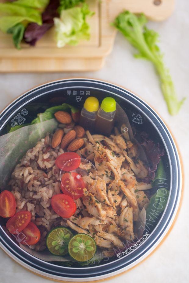 Asian-spiced Chicken Salad Recipe