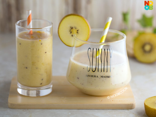 Golden Kiwi Smoothies Recipes