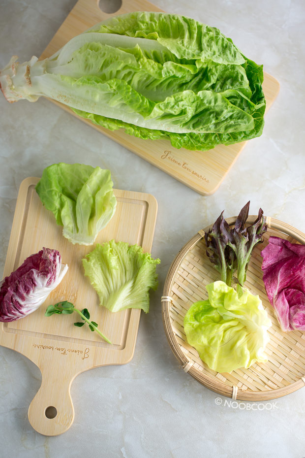 Roast Pork Salad Packed Lunch Recipe (Salad Base)