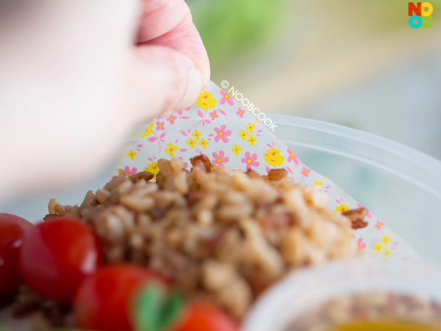 Roast Pork Salad Packed Lunch Recipe