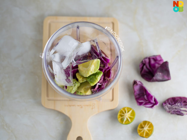 Red Cabbage Limeade Recipe