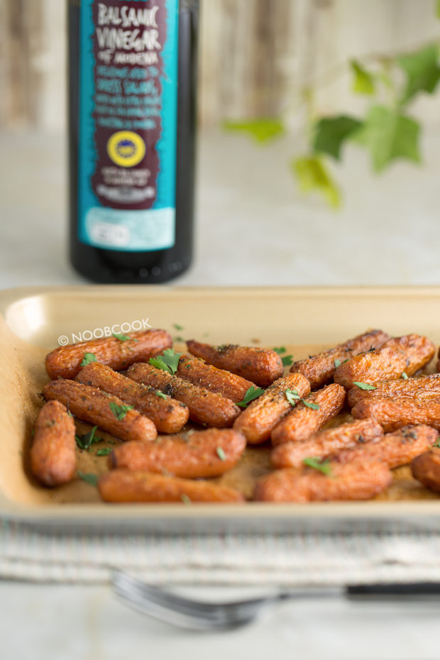 Roasted Balsamic Carrots Recipe