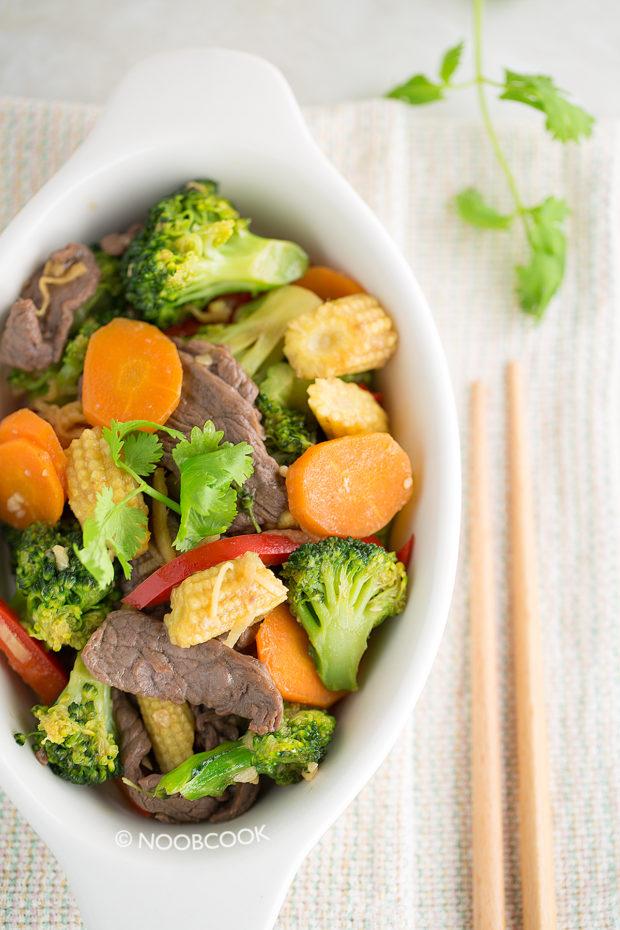 Stir-fry Beef & Vegetables Recipe