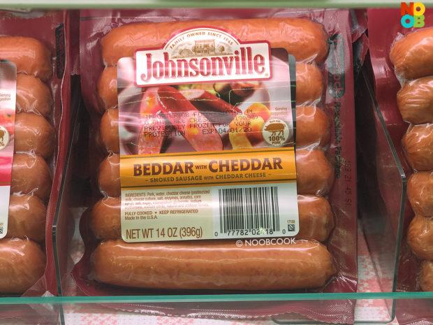 Beddar Cheddar Sausage