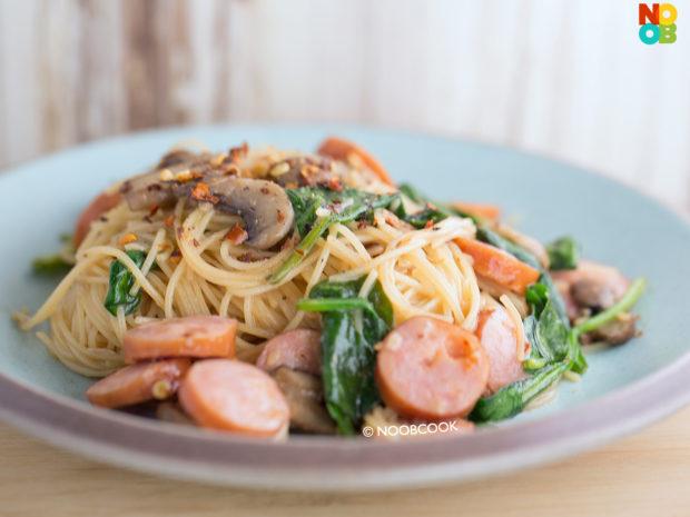 Sausage Mushroom Pasta Recipe