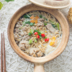 Claypot Yee Mee with Pork Recipe