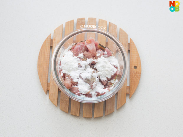Marinade Sliced Pork