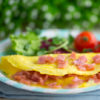 Ham & Cheese Omelette Recipe