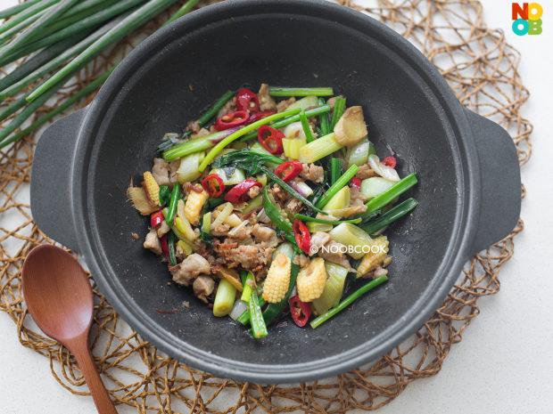 Stir-fry Pork & Veggies in XO Sauce Recipe