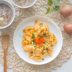 Japanese Fish Roe Omelette Recipe