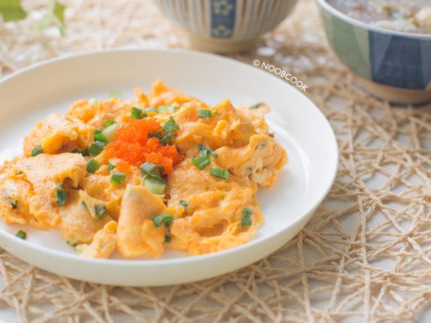 Japanese Fish Roe Omelette Recipe