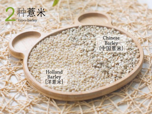 Two Types Barley (Barley Water Recipe)