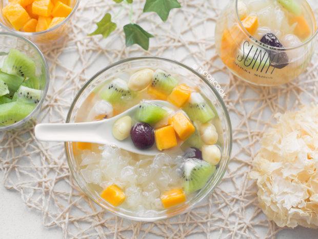 Fruity Snow Fungus Soup Recipe