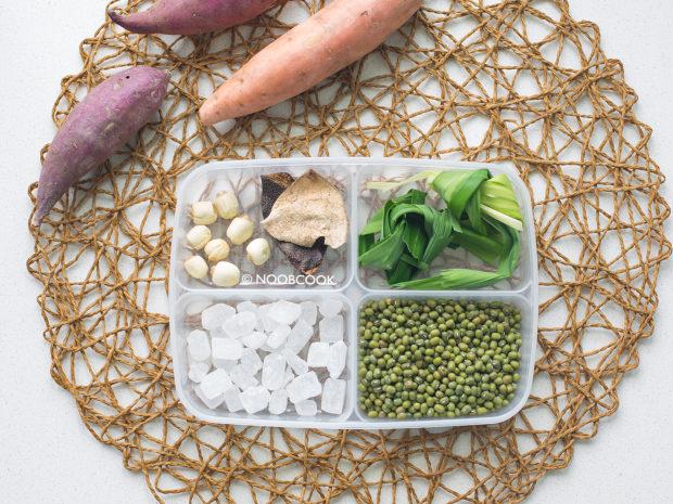 Green Bean Sweet Potato Soup Ingredients