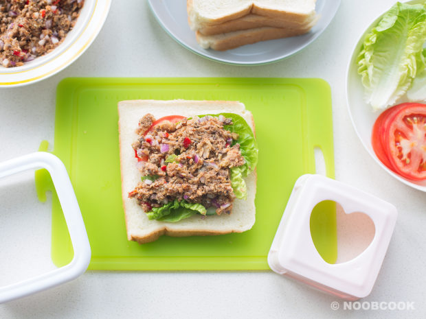 Sardines Sandwich Recipe