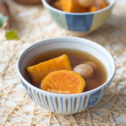 Sweet Potato Ginger Soup Recipe