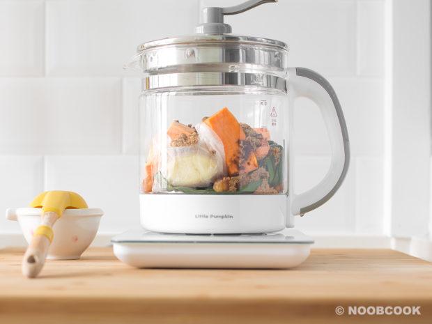 Sweet Potato Ginger Soup Recipe (Step 1/3)