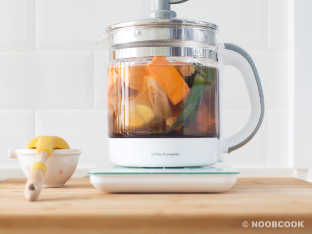 Sweet Potato Ginger Soup Recipe (Step 2/3)
