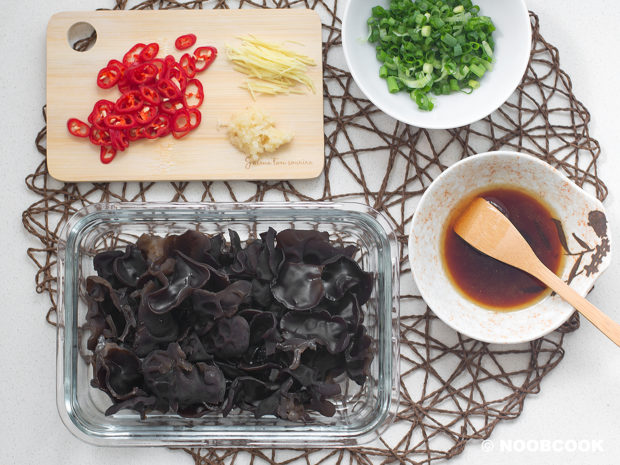 Black Woodear Fungus Salad Recipe