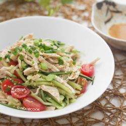 Chicken Salad with Creamy Sesame Dressing Recipe
