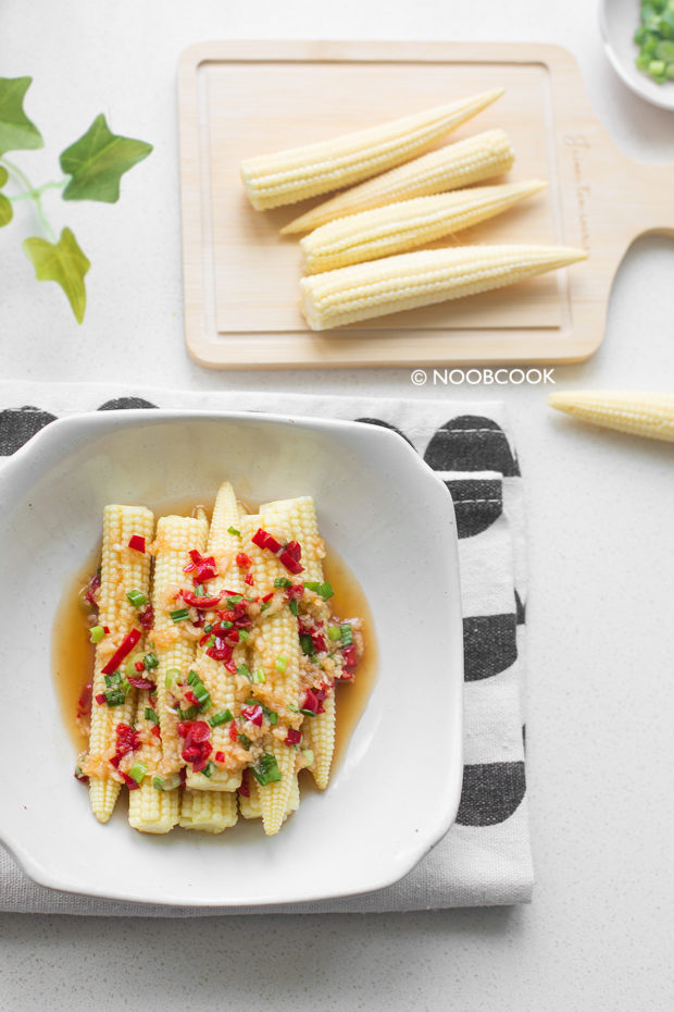 Chinese Baby Corn Salad Recipe