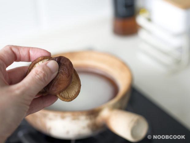 Claypot Chicken Yee Mee Recipe (Step 1)