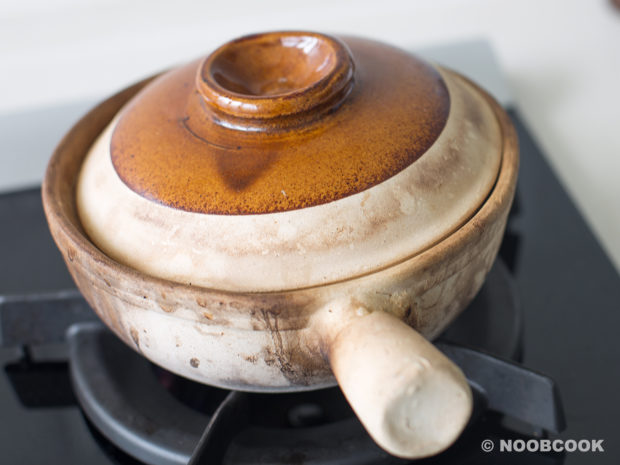 Claypot Chicken Yee Mee Recipe (Step 2)