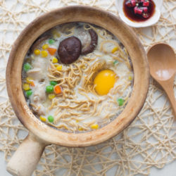 Claypot Chicken Yee Mee Recipe