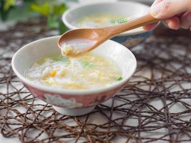 Crab Egg Drop Soup Recipe