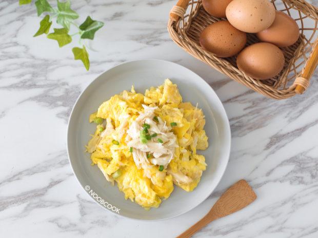 Crabmeat Omelette Recipe
