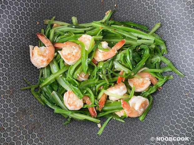 Stir-fry Royale Chives & Prawns (Step-by-Step)