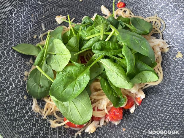 Crab Tomato Spaghetti Recipe (Step 6)