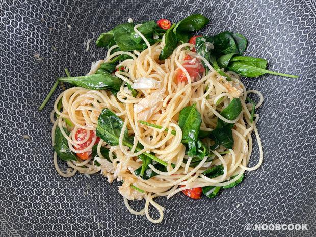 Crab Tomato Spaghetti Recipe (Step 7)