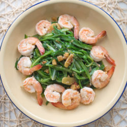 Stir-fry Royale Chives & Prawns Recipe