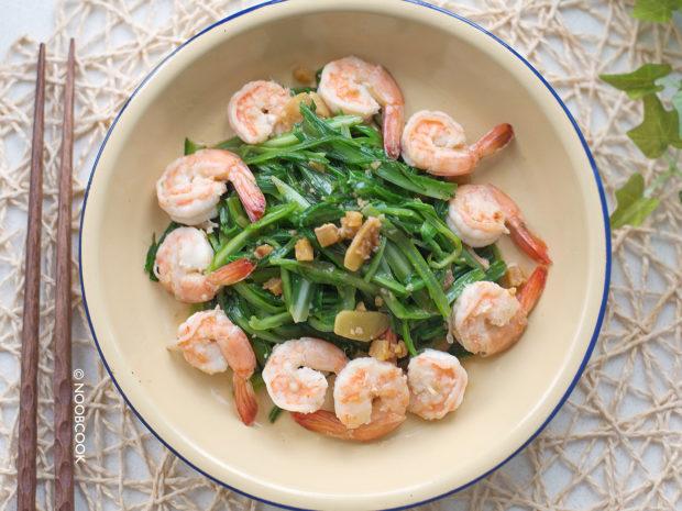 Stir-fry Royale Chives & Prawns Recipe