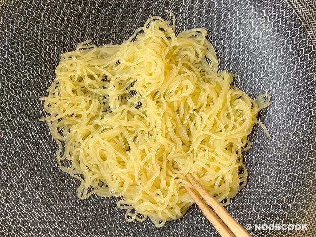 Preparing Rice Shirataki Noodles
