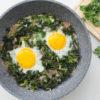 One-Pan Kale & Eggs Recipe