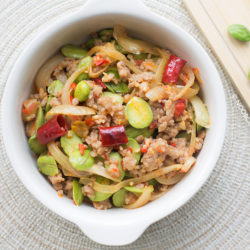 Stir-fry Chilli Petai & MInce Recipe