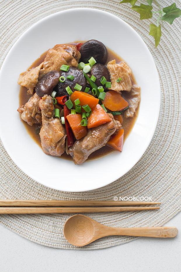Braised Chicken Drumlets Recipe