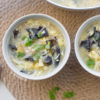 Enoki & Black Fungus Egg Drop Soup Recipe