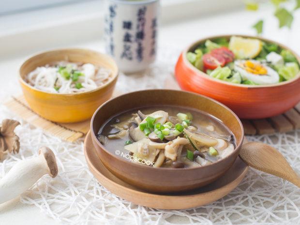 (Frozen) Mushroom Miso Soup Recipe