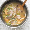 Low Carb Chicken & Veggies Miso Soup Recipe