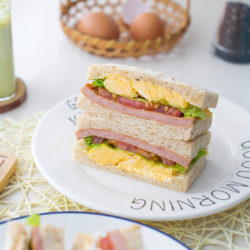 Luncheon Meat (Spam) Egg Sandwich Recipe