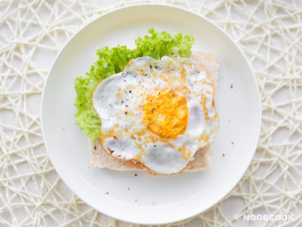 Luncheon Meat (Spam) Egg Sandwich (Step-by-Step)
