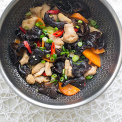 Stir-fry Chicken & Black Fungus Recipe