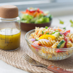 Garden Pasta with Italian Vinaigrette Recipe