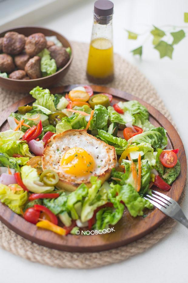 Garden Salad Italian Vinaigrette Recipe